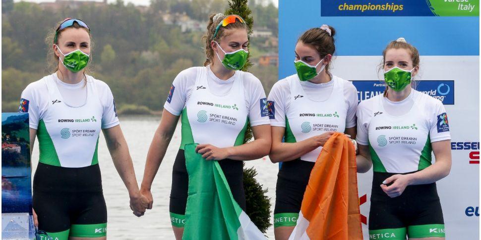 Irish rowers qualify two more...