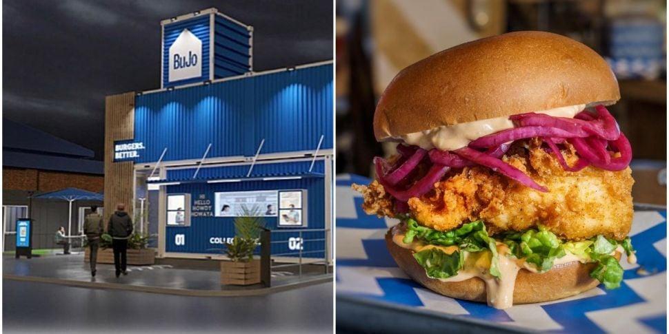 A New Drive-Thru Burger Joint...