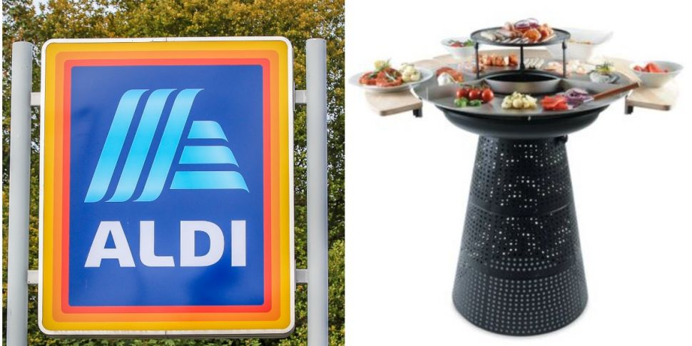 Aldi Is Selling A 2-In-1 Grill...