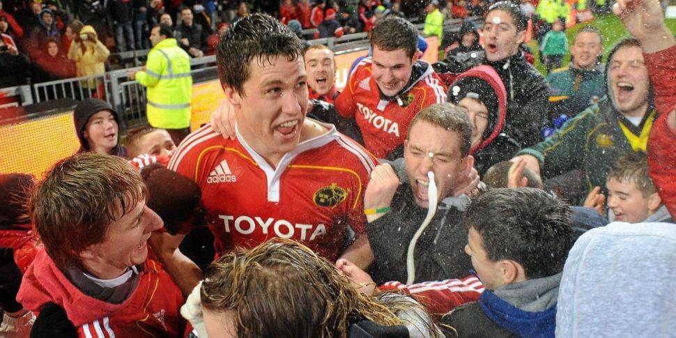 Irish second row Ian Nagle con...