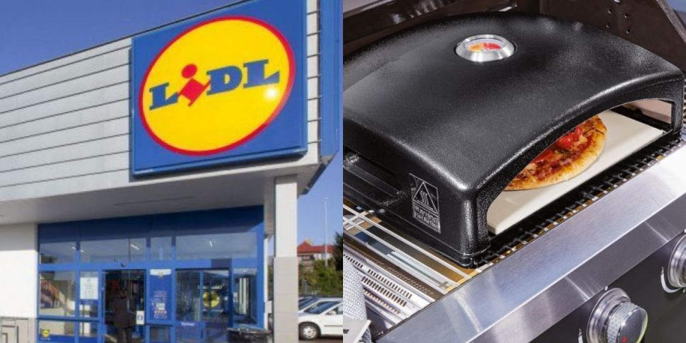 Lidl Is Selling A BBQ Pizza Ov...