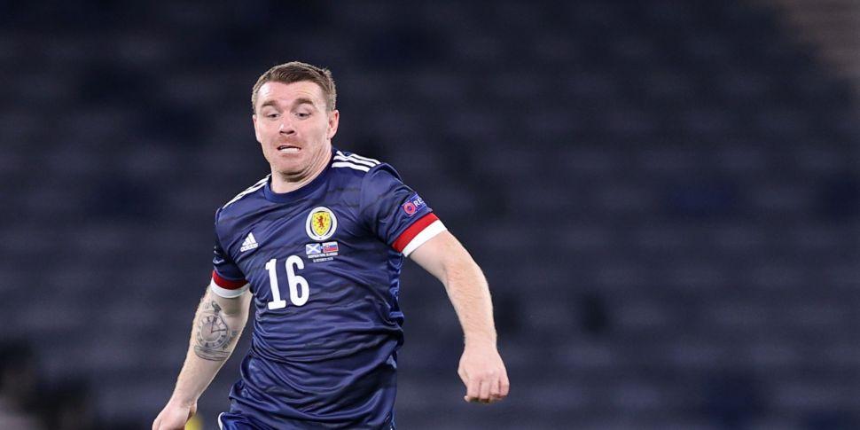 Scotland midfielder John Fleck...