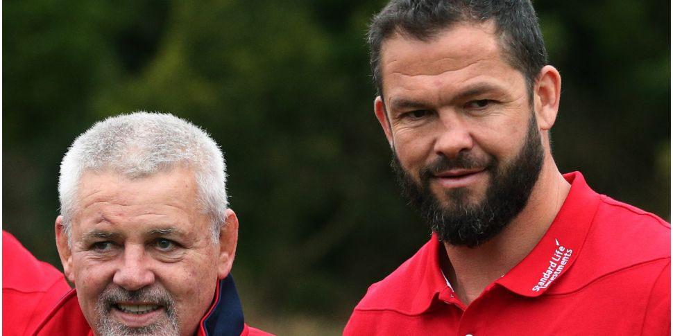 Farrell set for British and Ir...