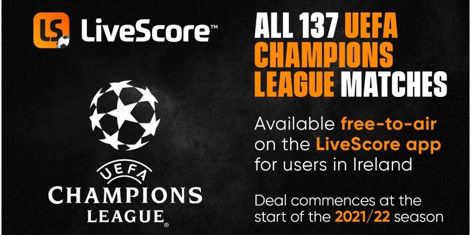 Live Score to Stream All Champ...