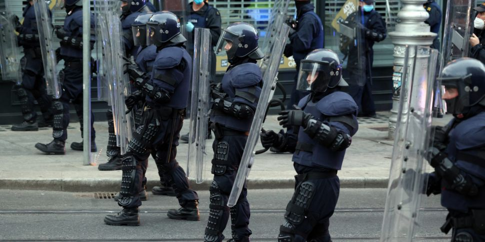 Gardaí Defend The Use Of Baton...
