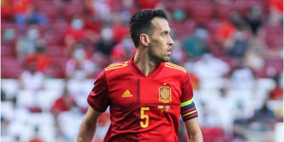 Sergio Busquets tests positive...