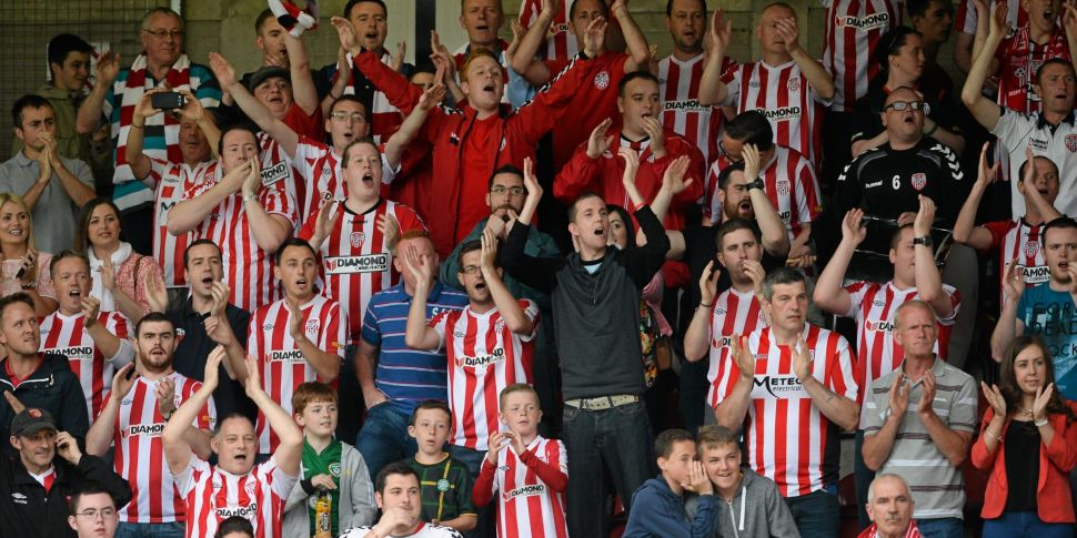 Derry City to welcome back fan...