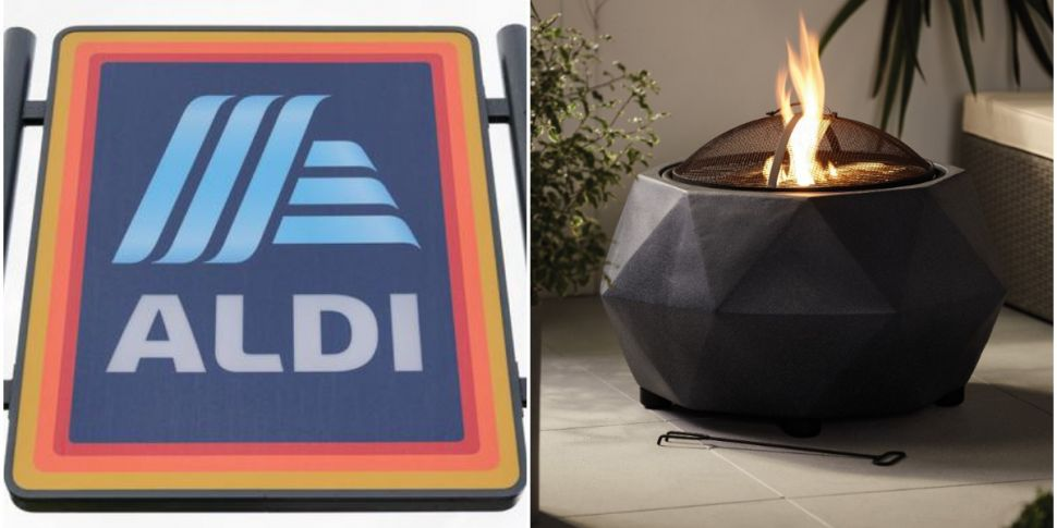 Aldi's Outdoor Fire Pit Is Bac...