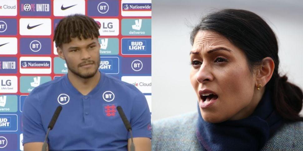 Tyrone Mings says Priti Patel...