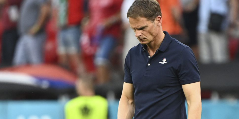 Euro 2020 exit sees Frank de B...