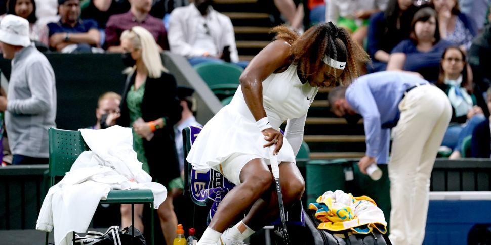 Serena retires hurt at Wimbled...