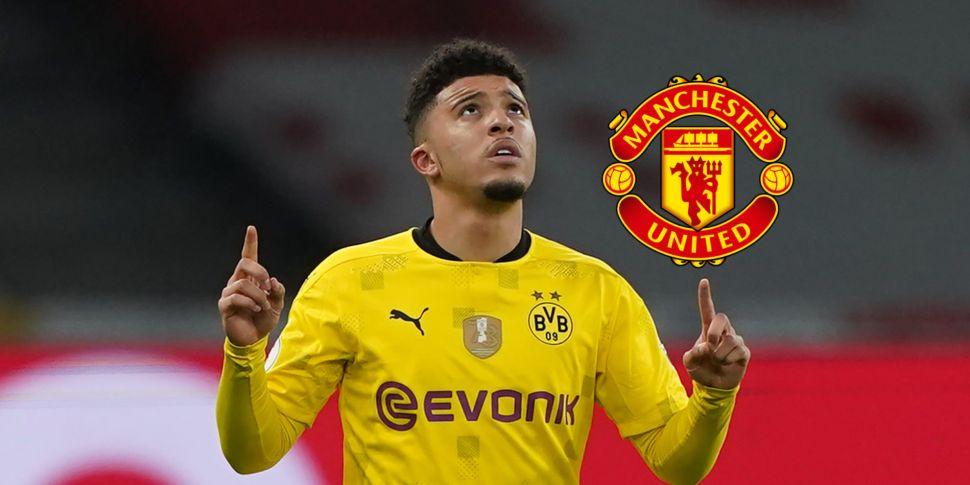 Dortmund confirm Sancho move t...