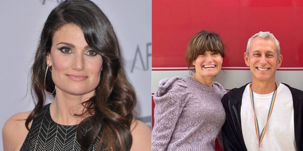 Idina Menzel Touches Down In D...