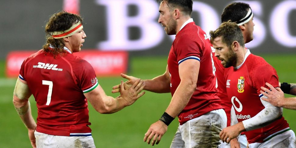 Entire Lions tour to be played...
