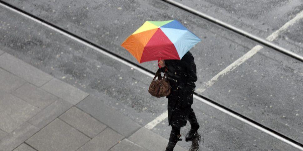 Status Yellow Rain And Thunder...