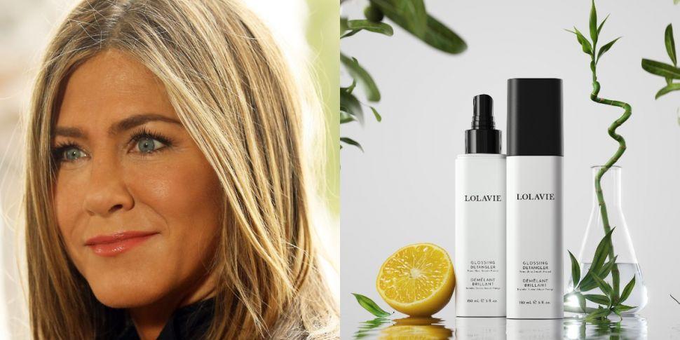 Jennifer Aniston Launches Hair...