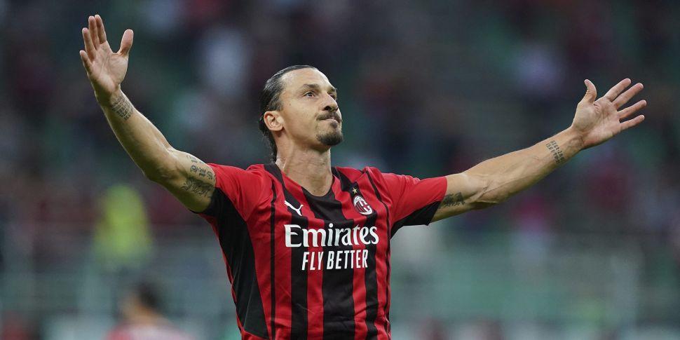 Injured Zlatan Ibrahimovic out...