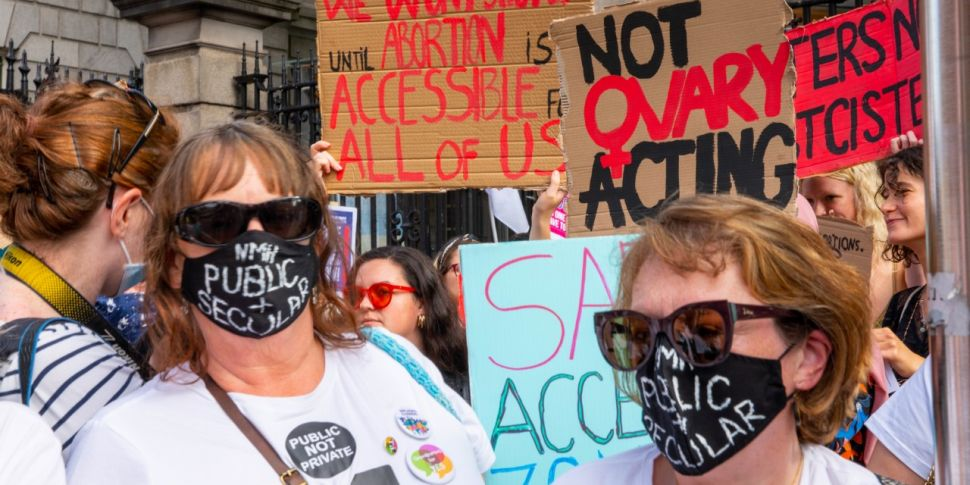 Abortion Rights Campaigners Ga...