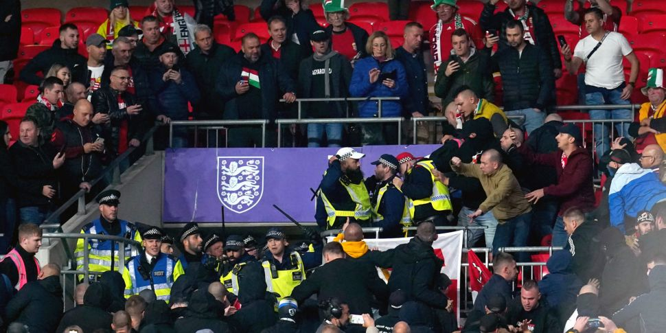 WATCH: Visiting Hungary fans c...