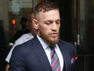 Motoring Charges Against Conor McGregor Struck Out