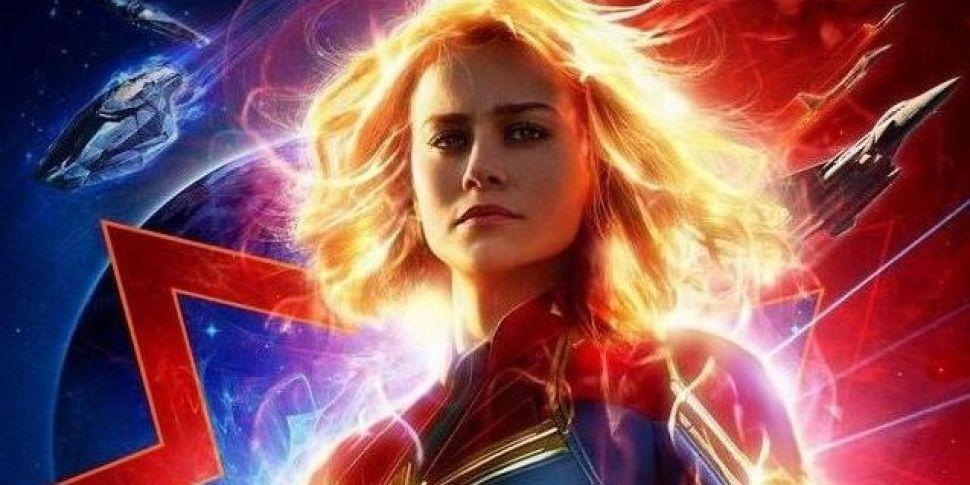 Captain Marvel's New Trailer H...
