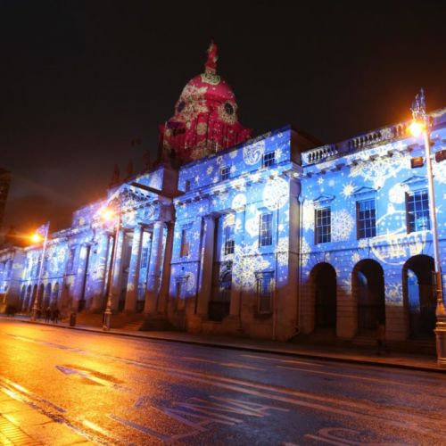 Dublin Dazzles With New Winter Lights Displays