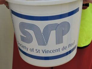 St Vincent De Paul Holding Annual Fundraising Campaigning Today