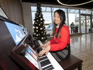 Passengers Invited To Play New Piano Arrival At Dublin Airport