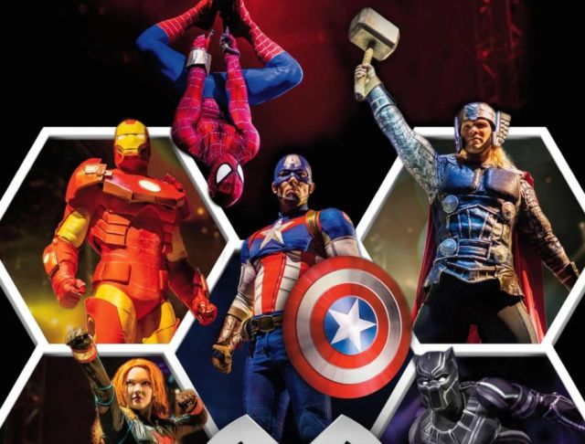 Marvel Universe Live Is Coming To 3Arena Next Year