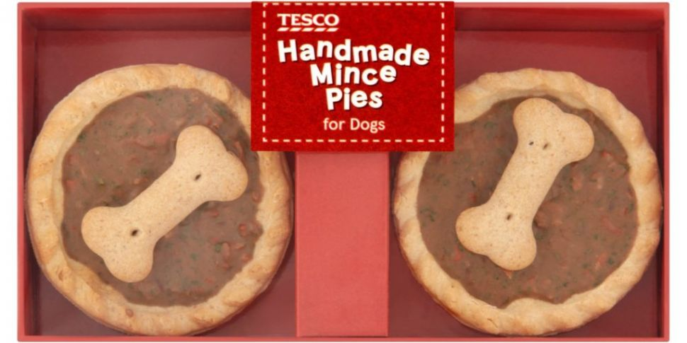 Tesco Is Selling Mince Pies For Dogs This Christmas