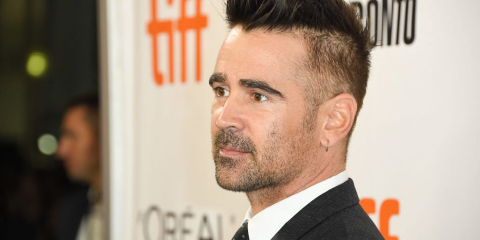 Colin Farrell Is On The Late L...