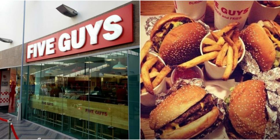 Five Guys Opens In Swords Pavi...