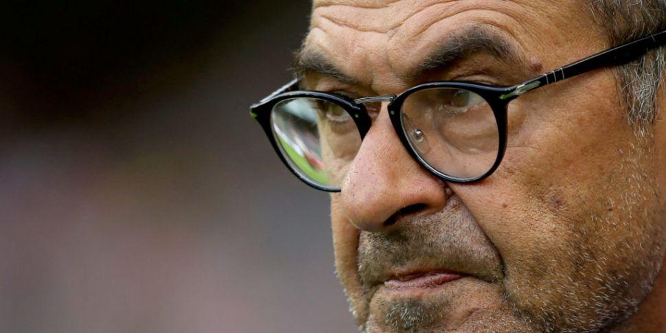 Chelsea boss Maurizio Sarri sl...
