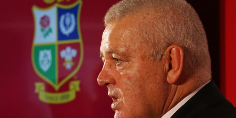 Lions going for Warren Gatland...
