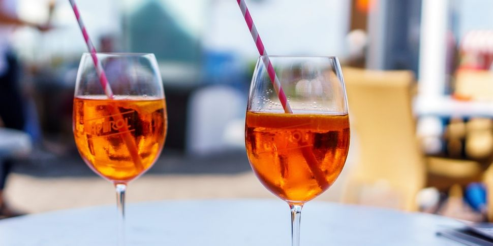 An Aperol Spritz Terrace Is Op...
