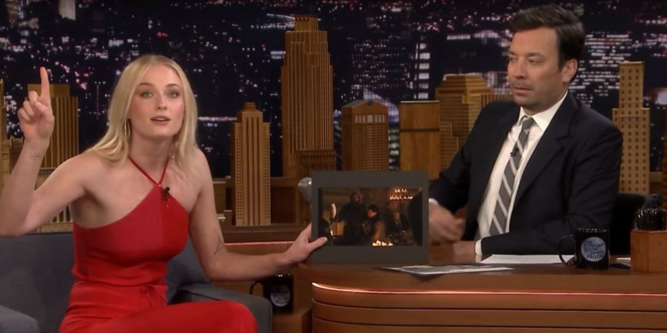 Sophie Turner Reveals Who Was...