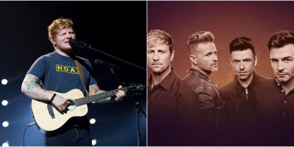 Ed Sheeran Asks Westlife To Pe...