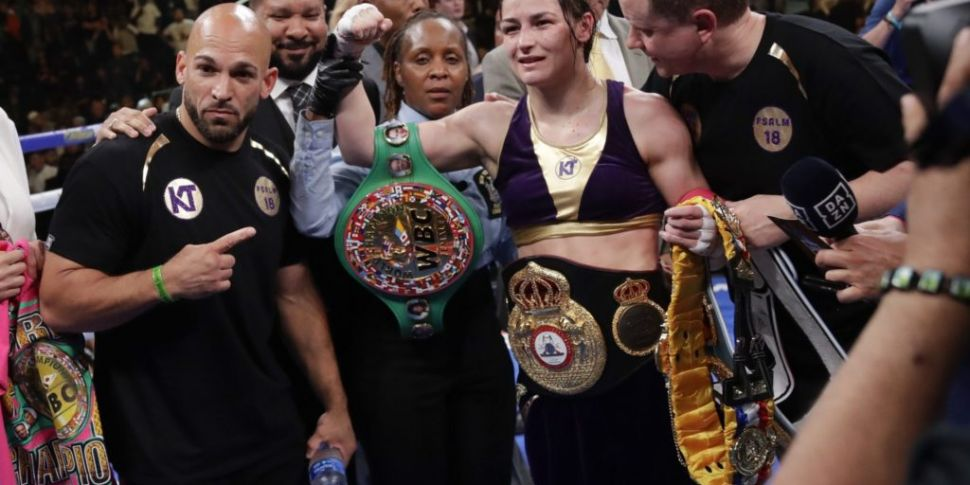 Katie Taylor To Touch Down In...