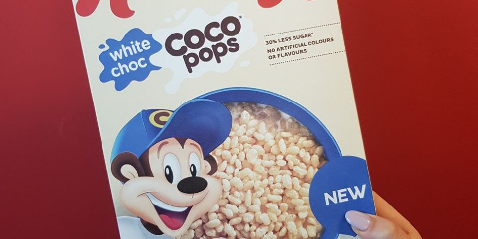 Kellogg's Launch White Chocola...