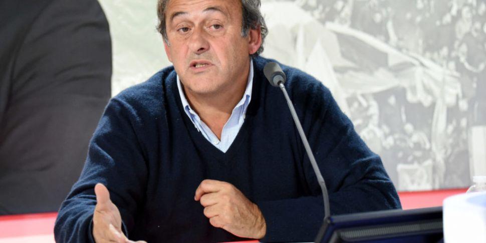Former UEFA President Michel P...