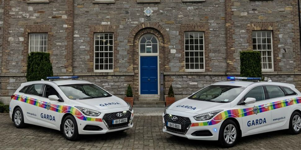 Gardaí Reveal Colourful New Lo...