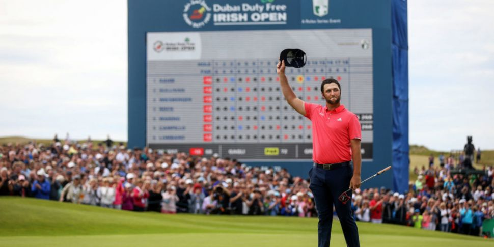 Jon Rahm wins second Irish Ope...