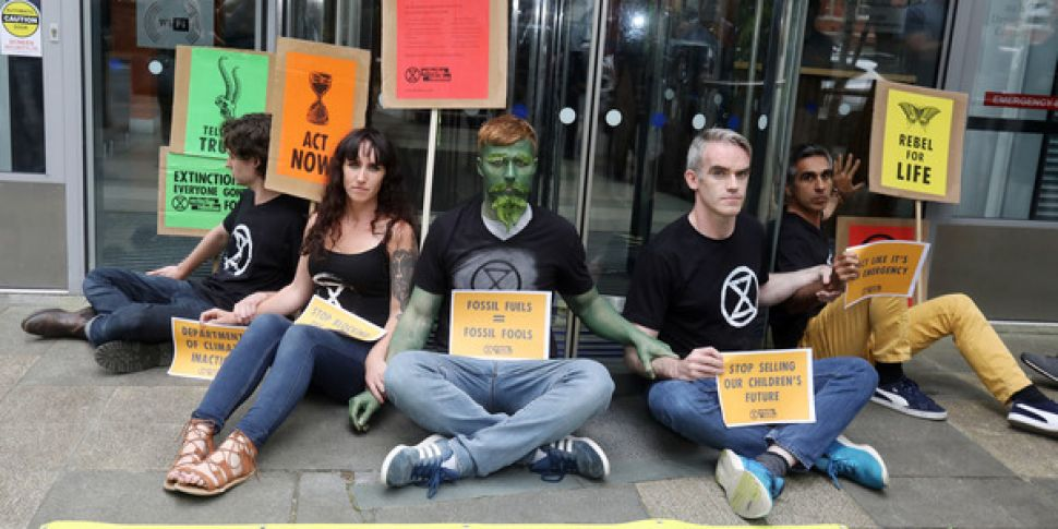 Five Extinction Rebellion Acti...