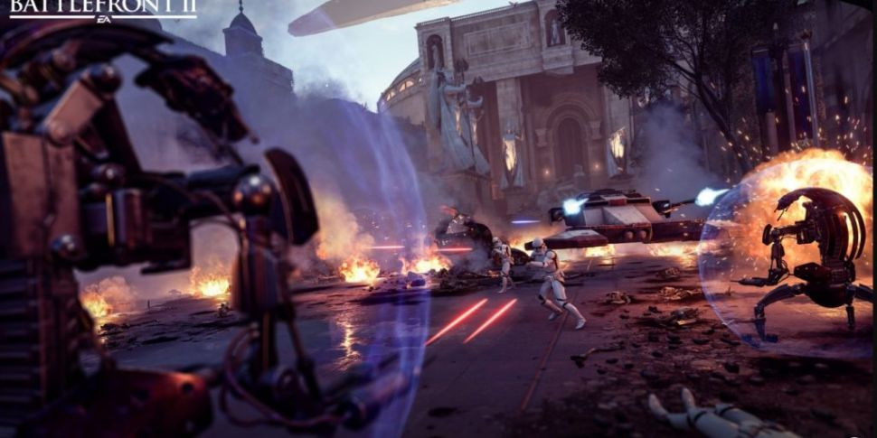 Droidekas invade Star Wars Bat...
