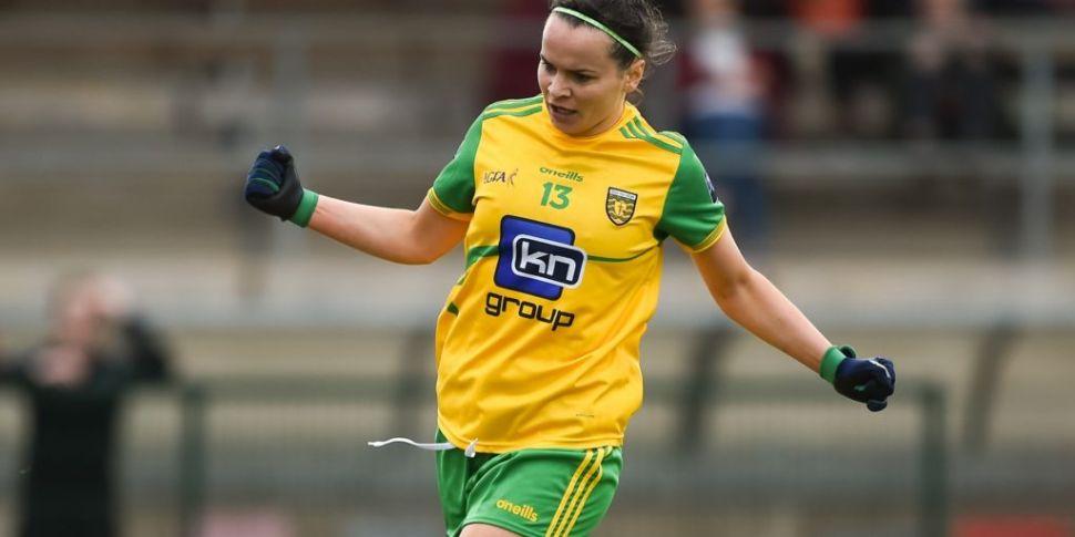 Donegal's Geraldine McLaughlin...