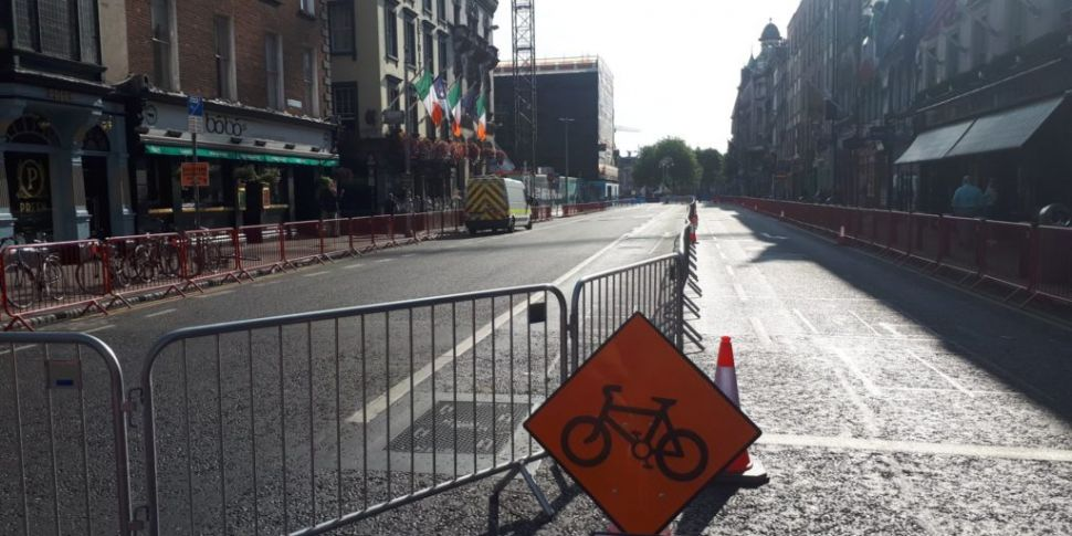 College Green Closes To Vehicl...