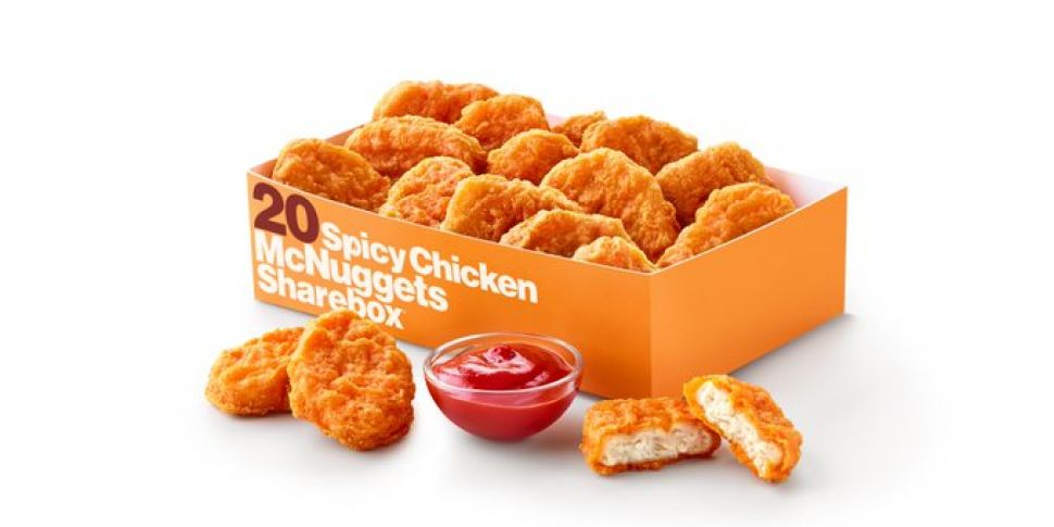 Spicy McNuggets Launch In McDo...