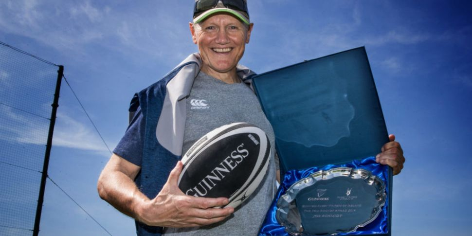 Joe Schmidt honoured at Guinne...