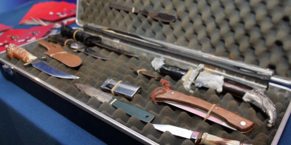Garda Blitz on Knife Crime Set...