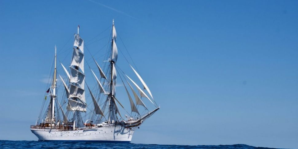 100-Year-Old Tall Ship Coming...
